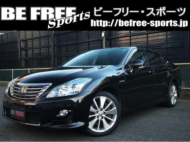 トヨタ ベースグレード・サンルーフ・黒革シート・1年保証・下取り車