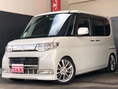 タントカスタムL・純正HDDナビ・社外16AW・車高調