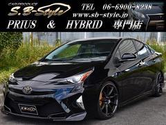 プリウスS新車コンプリート SB−STYLEデモカー 新車保証付き