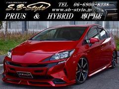 プリウス30 新品エアロ 新品ホイール 新品タイヤ フルカスタムカー