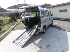 ミニキャブバン福祉車 車椅子移動車 スローパー