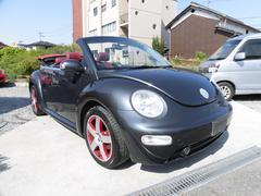 VW ニュービートルカブリオレダークフリント 世界統一限定車 日本120台