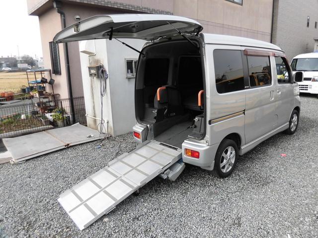 ダイハツ スローパー リアシート付 福祉車 5ナンバー車