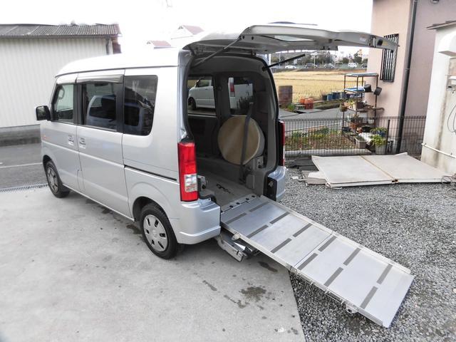 スズキ リアスローパー 福祉車リアシート付5ナンバー 車椅子固定装置