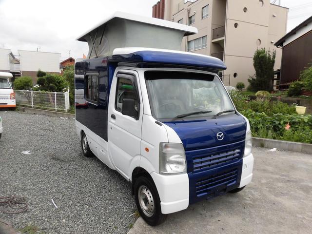 マツダ  AZ-MAX ka-i ポップアップルーフ軽キャンパー FFヒーター 4WD