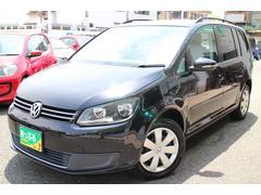 VW ゴルフトゥーランTSI コンフォートライン禁煙車ワンオーナー車HDDナビ