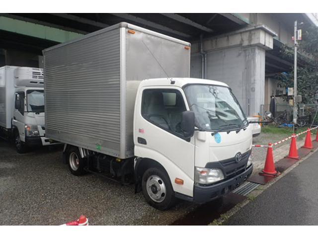 トヨタ 2t標準10尺アルミバン AT車 サイドドア ETC