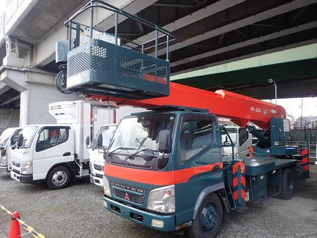 三菱ふそう キャンター キャンター AICHI製 高所作業車 22メーター