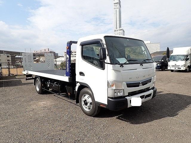 三菱ふそう キャンター キャリアカー 極東製フラトップZERO MT車