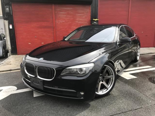 BMW アクティブハイブリッド7 車高調 20AW 地デジ LED