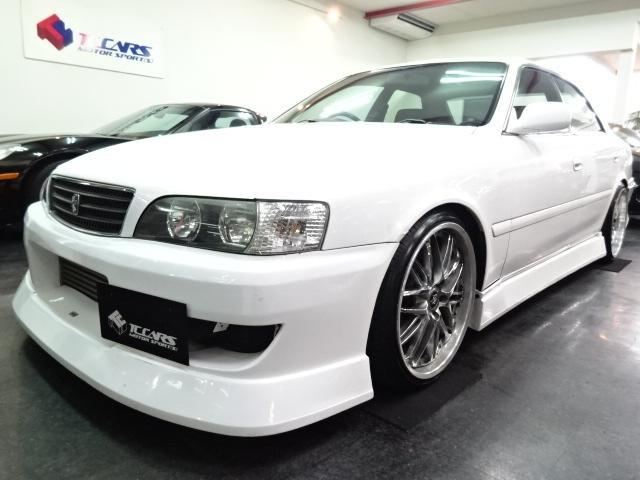 トヨタ ツアラ-V6速MTマフラ車高調TRD300kmメータ19AW