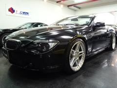 BMW650iカブリオレ後期赤革Iドライブナビマフラ車高調20AW