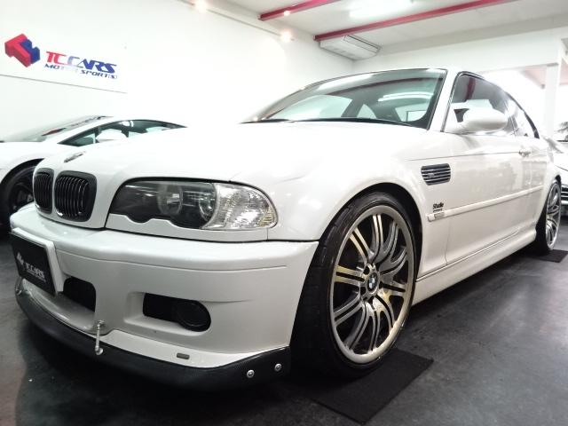 BMW チタンマフラブレンボ車高調シュニッツアカーボンエアロ黒革ナビ