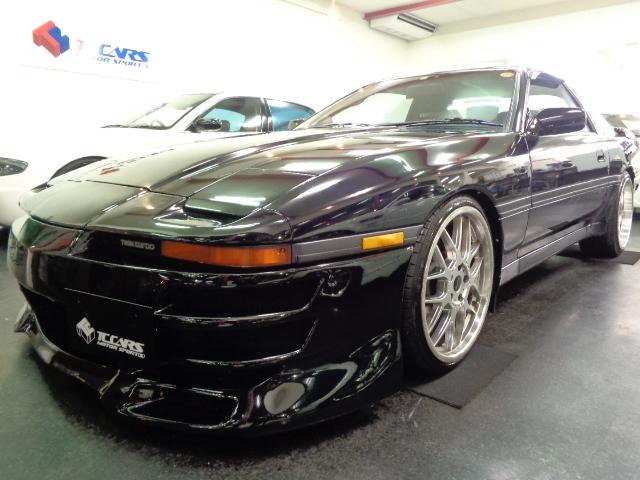 トヨタ GTツインターボ ワイドフルエアロマフラ車高調レカロ19AW