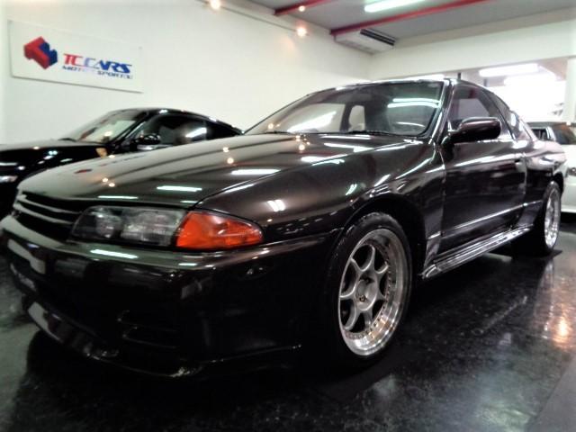 日産 GT-Rマフラ車高調クラッチキャリパN1ライトTベルト交換済