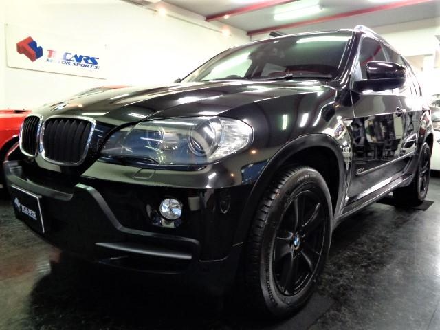 BMW X5 3.0si黒革SRナビBカメラPシートシートエアコンクルコン