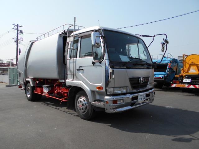 日産ディーゼル H18極東製プレスパッカー 8.7m3 1700kg積載