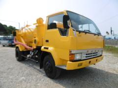ファイター木下自工製強力吸引車 28m3/min タンク材質ステンレス