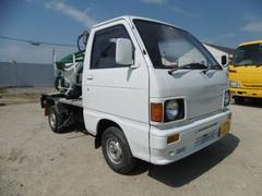 ハイゼットトラックモリタエコノス製軽四輪バキュームカー 350L積載