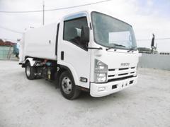 エルフトラックモリタエコノス製回転ダンプ式パッカー車 6.5m3