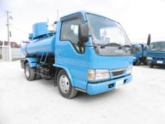 エルフトラックモリタエコノス製バキュームカー 3000L積載