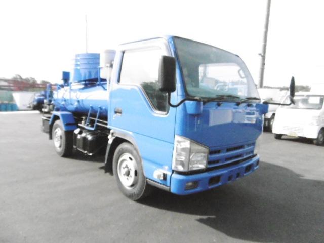 いすゞ モリタエコノス製バキュームカー 積載1800L