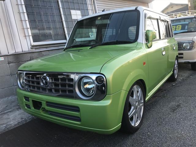 マツダ  全塗装色替え 車高調 15インチアルミ