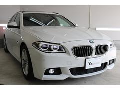 BMW528iツーリング Mスポーツ ガラスルーフ 黒本革 保証有