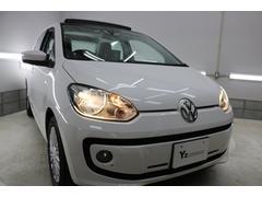 VW アップ!ハイ アップ!ガラストップルーフ シートヒーター クルコン