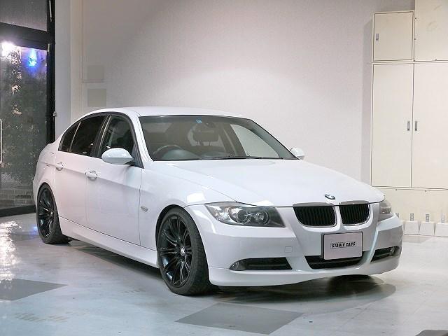 BMW 320i 6MT ローダウン 社外マフラー iDRIVE