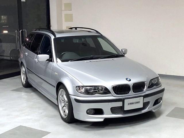 BMW 3シリーズ 325iツーリング Mスポーツパッケージ ワンオーナー サンルーフ パワーシート 社外ナビ