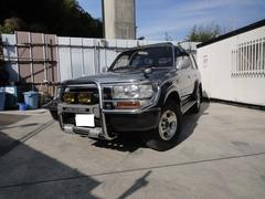 ランドクルーザー80VXリミテッド4WD ワンオーナー屋根保管ETC