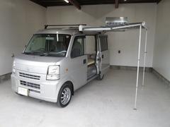 エブリイPA ハイルーフ 軽キャンピングカー ベッドキット 収納棚