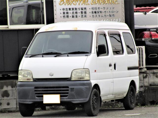 スズキ PA ハイルーフ パワステ付 4WD