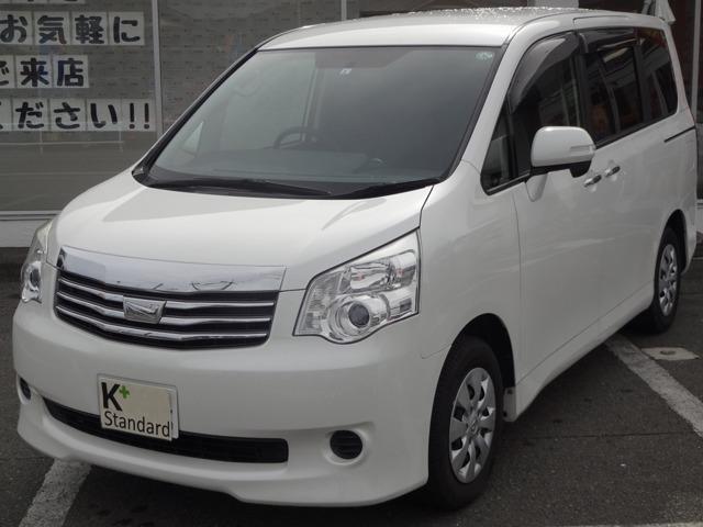 トヨタ ノア X スマートエディション 1オーナ ワンセグナビ 両側電動