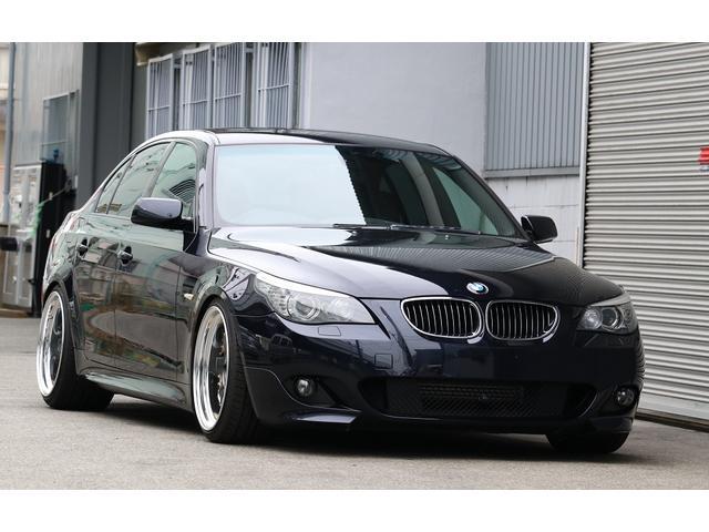 BMW 525i Mスポーツ カスタム ローダウン