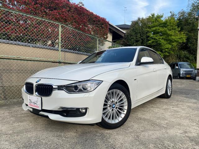 BMW 320iラグジュアリー 黒レザーパワーシート・シートヒーター・コンフォートアクセス・17AW・ナビ・Bカメラ・ETC・Bluetooth・GPSレーダー・ドライブレコーダー