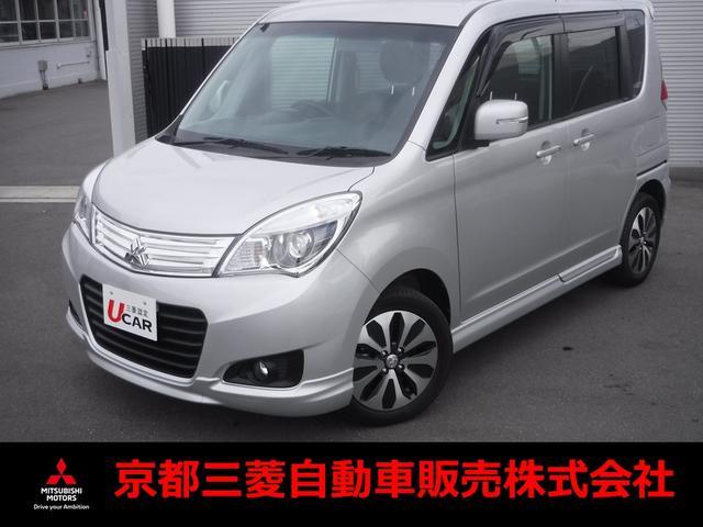 三菱 S 三菱認定中古車保証 ワンオーナー ナビ TV