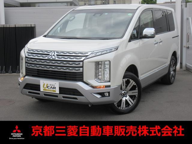 三菱 デリカD:5 P 10.1インチナビ 電動サイドステップ 三菱認定中古車保証