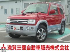 パジェロミニVR−S 4WD ターボ レカロシート ワンオーナー 禁煙車