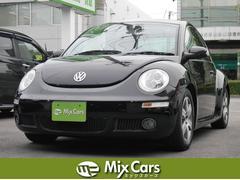 VW ニュービートルLZ レッドレザーシート サンルーフ ETC 社外オーディオ