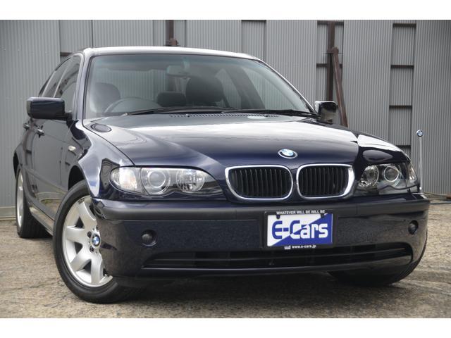 BMW 3シリーズ 318i AY20 E46 ワンオーナー 記録簿 純正キセノン 横滑り防止装置 純正アルミ 電波キーレスキー フォグランプ トランクスルー オリエントブルーメタリック
