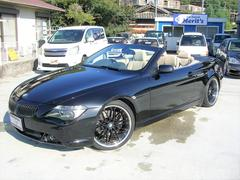 BMW645Ciカブリオレ ベージュレザー 20inアルミ