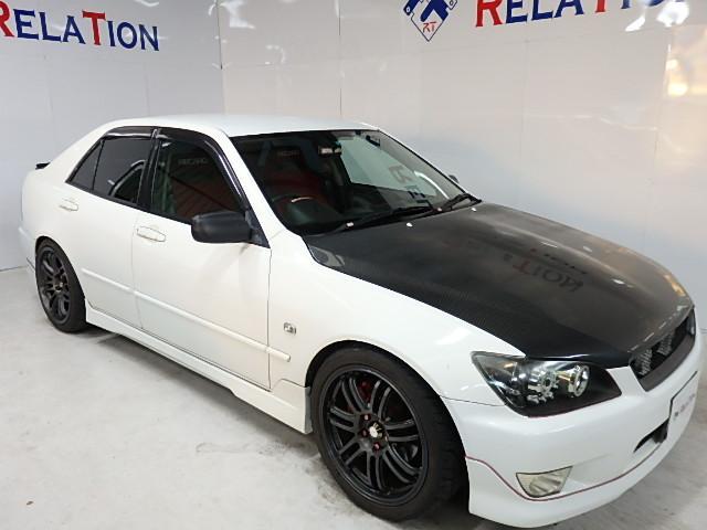 トヨタ RS20018AW車高調マフラーエアロボンネットレカロメータ