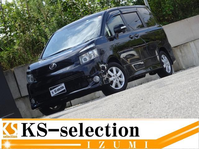 トヨタ ヴォクシー ZS サンルーフ 両側電動スライドドア カロッツェリアHDDナビ フルセグTV Bluetooth パドルシフト スマートキー 1年保証