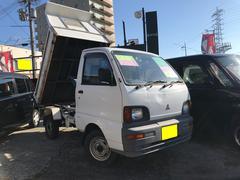 ミニキャブトラックダンプ 5MT 4WD PTO タイベル交換済 AC PS