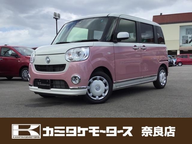 「ダイハツ」「ムーヴキャンバス」「コンパクトカー」「奈良県」の中古車