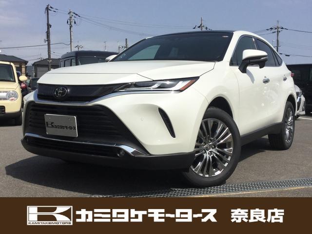 トヨタ Z SUV・ホワイトパールクリスタルシャイン サンルーフ 登録済未使用車