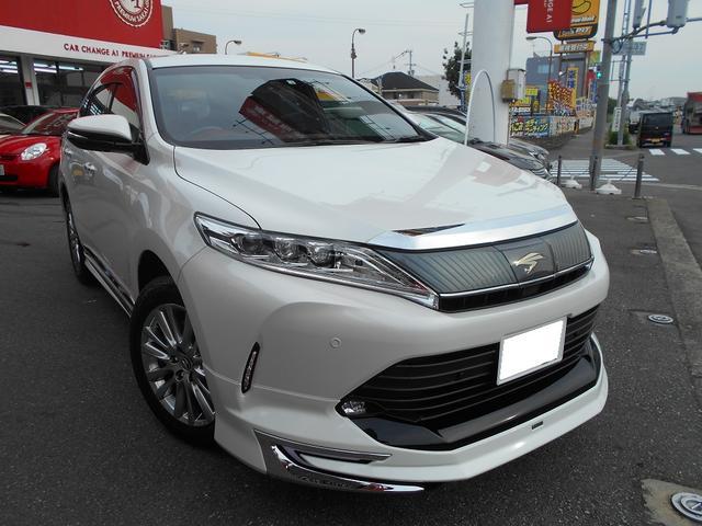 トヨタ プレミアム・新車・アルパイン10インチナビ・モデリスタエアロ