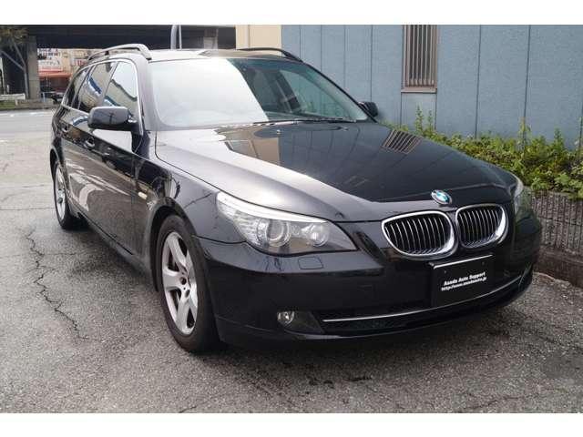 BMW 525iツーリングハイラインパッケージ 黒革 ナビ HID